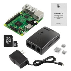 Raspberry Pi 2 Basic Starter Kit with Latest Version Raspberry Pi 2