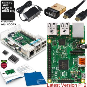 Raspberry Pi 2 Complete Starter Kit with Edimax WiFi