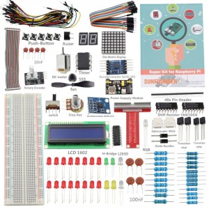 Sunfounder Project Super Starter Kit for Raspberry Pi 2