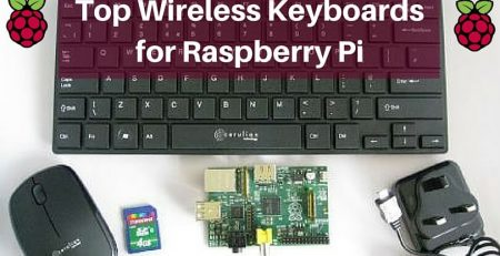 Top Wireless Keyboard for Raspberry Pi