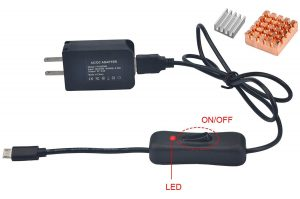 Gowoops 5V 2.5A Power Supply