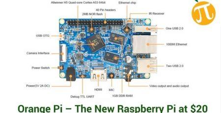 Orange Pi – The New Quad-Core Computer at $20