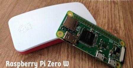 Raspberry Pi Zero W - A $10 WiFi and Bluetooth Capable Computer