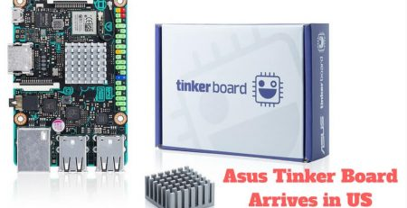 Asus Tinker Board Arrives in US