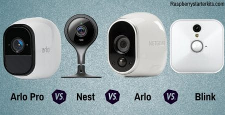 Arlo Pro vs Arlo vs Blink vs Nest