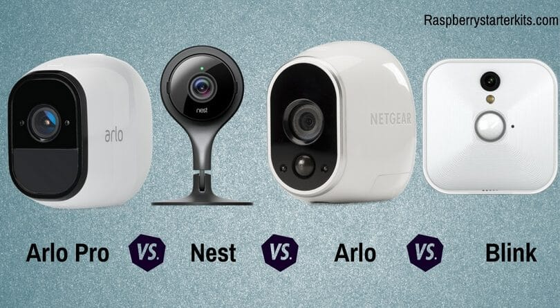 Arlo Pro vs Arlo vs Blink vs Nest - Security Camera Systems Compared