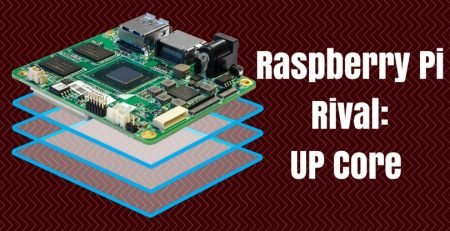Raspberry Pi Rival- UP Core that Runs Full Windows 10 and Android
