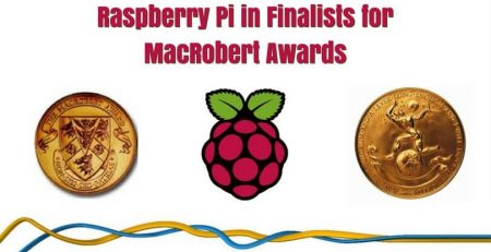 Raspberry Pi in Finalists for MacRobert Awards