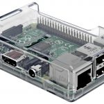 Raspberry Pi 3 Transparent Case from SB Components