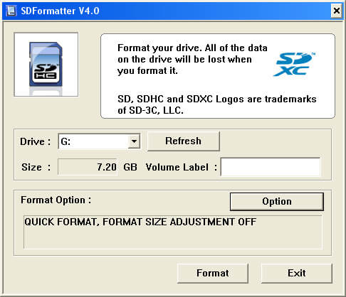 easeus format tool