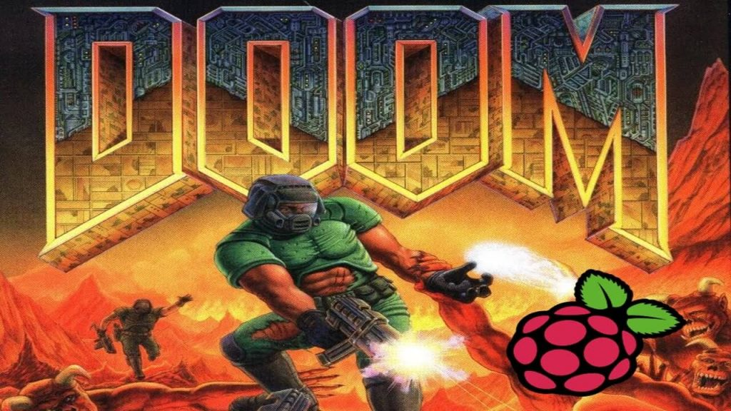 Doom game on RPi DosBox