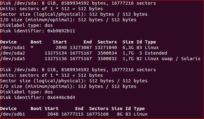 clone Pi SD card on linux
