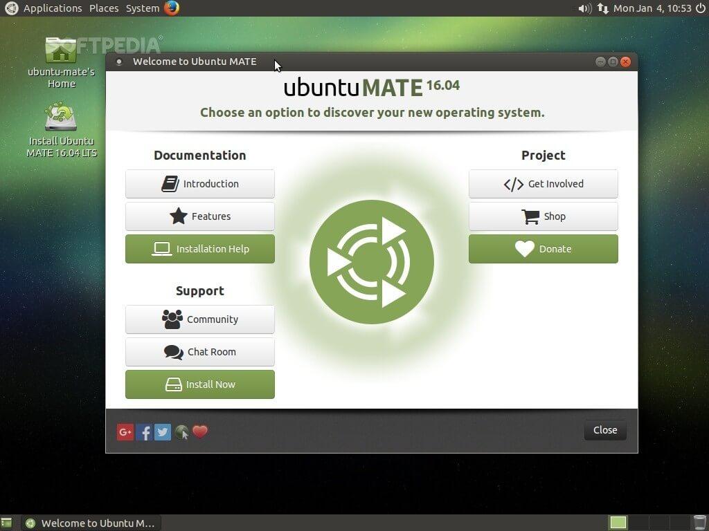Ubuntu MATE Image