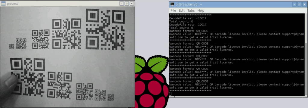 Raspberry Pi Barcode Scanner in Python