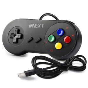 iNNEXT Retro USB SNES Controller Gamepad
