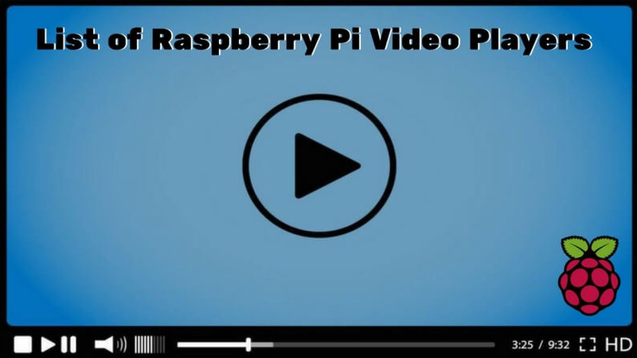List of Raspberry Pi Video Players and How to Play Guide